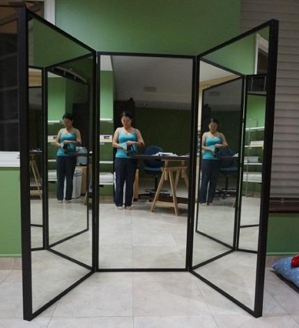 Tutorial: DIY Three Way Mirror