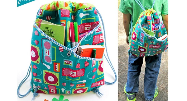 Tutorial: Crossover pocket backpack