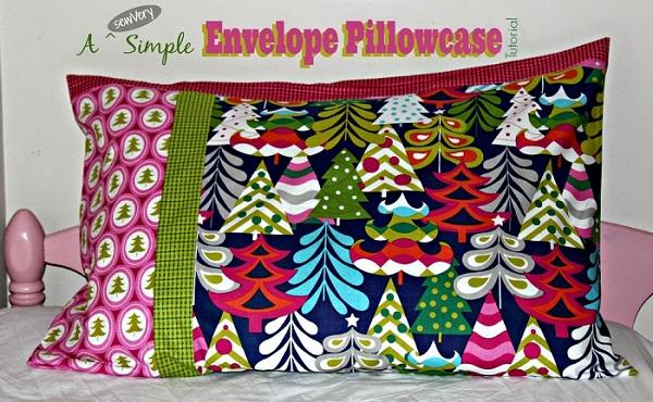 Tutorial: sewVery Simple Envelope Pillowcases
