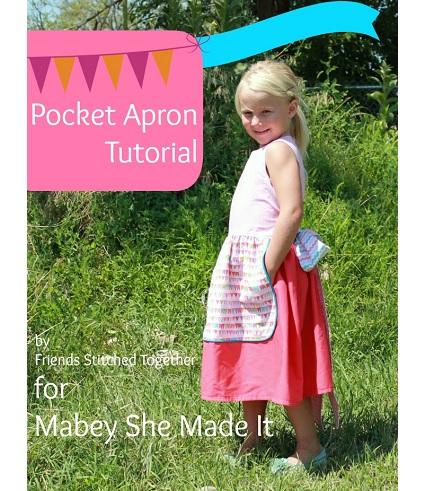 Tutorial: Girls apron with hidden side pockets