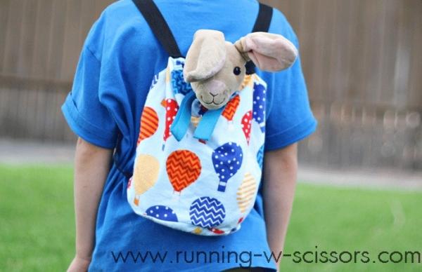 Tutorial: Stuffed animal backpack