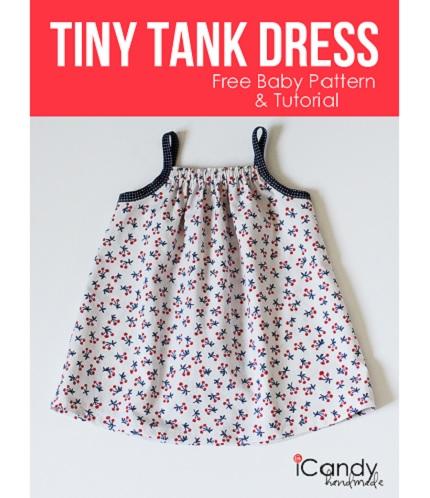 Free pattern: Tiny Tank Dress