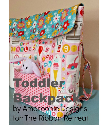 Tutorial: Sew a toddler backpack