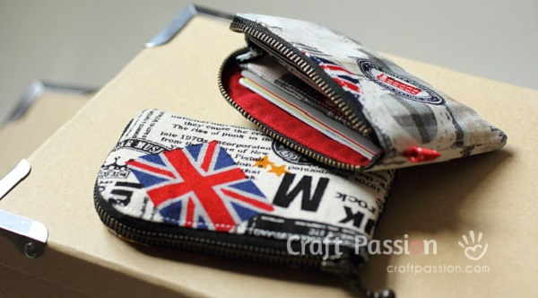 Tutorial: Zipper card pouch