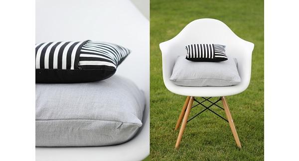 Tutorial: Zippered pillow covers 2 ways
