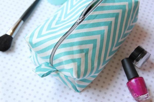 Tutorial: Boxy cosmetic bag