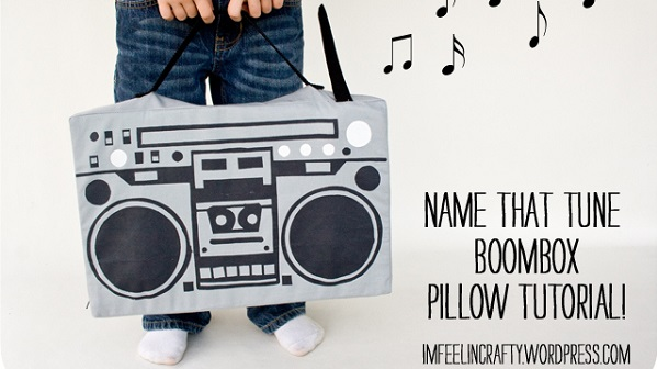 Tutorial: Boombox pillow that plays music