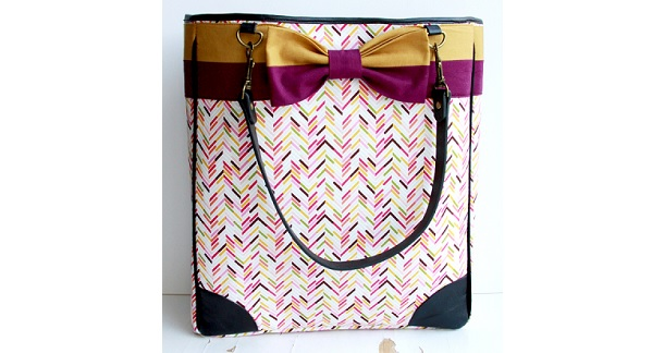 Tutorial: Designer inspired bow tote