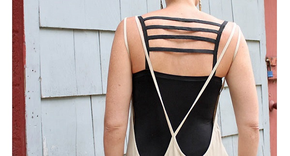Tutorial: DIY cage bra top