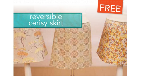 Video tutorial: Sew the Cerisy A-line reversible skirt