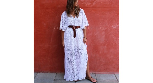 Tutorial: DIY lace kaftan