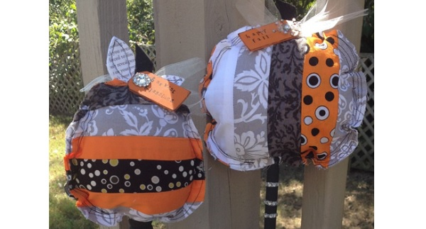 Tutorial: Patchwork pumpkins