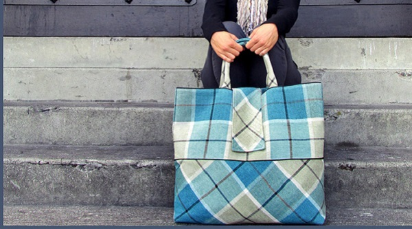 Tutorial: The Quintessential Plaid Tote