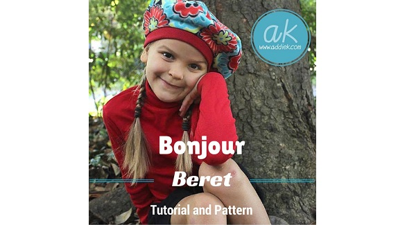 Free pattern: Bonjour Beret for little girls