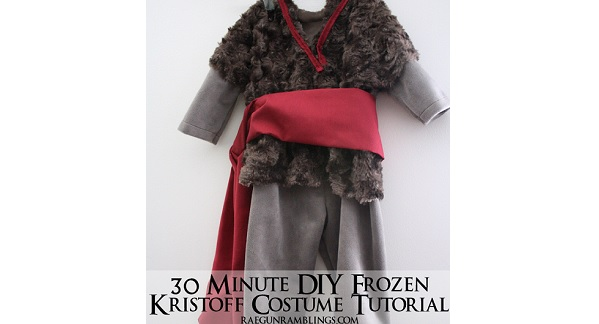 Tutorial: 30-minute Kristoff costume for baby