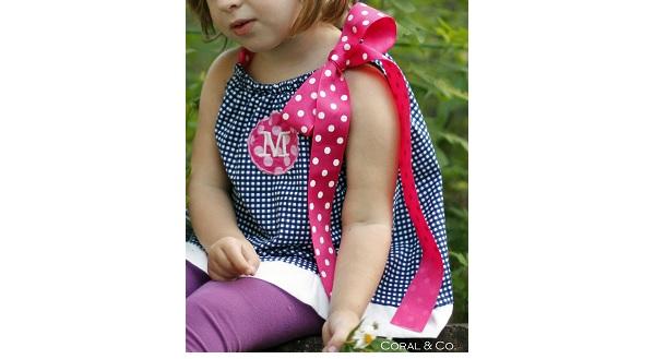 Free pattern: Little girls A-line pillowcase top