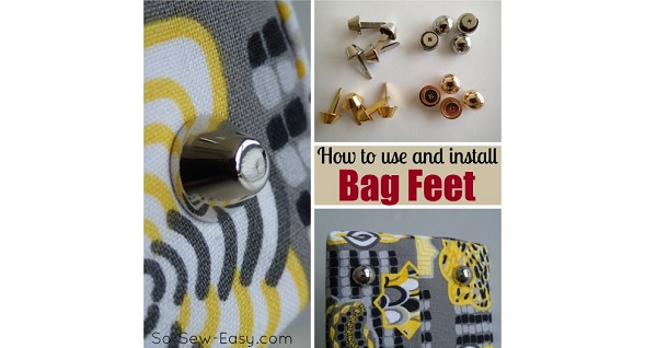 Tutorial: How to install bag feet