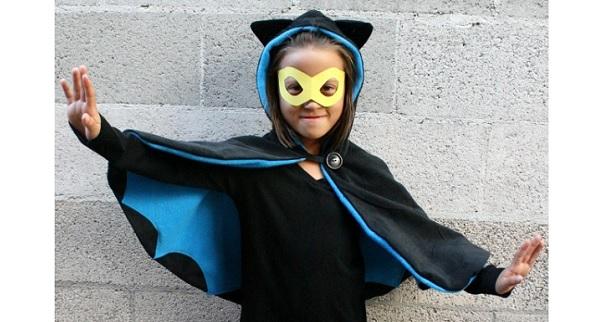 Tutorial: How to make a Bat Girl cape