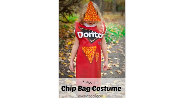 tutorial chip bag costume sewing