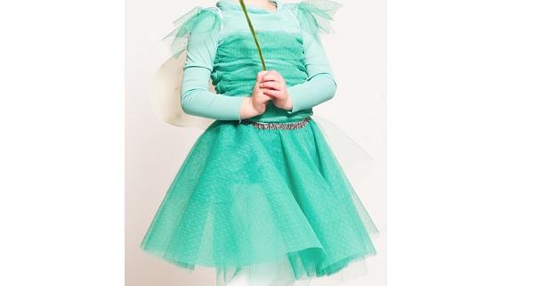 Tutorial: Little girl's fairy princess dress