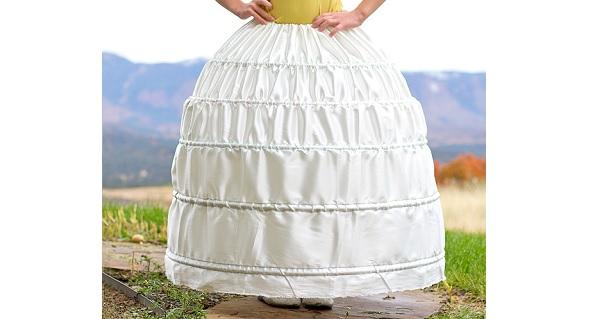 Tutorial: DIY a sturdy but inexpensive hoop skirt