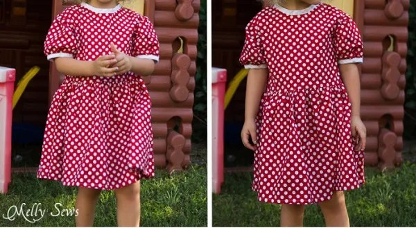 Free pattern: Minnie Mouse birthday dress