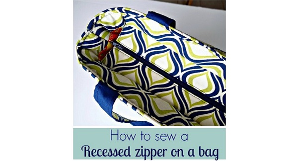 Tutorial: How to sew a recessed zipper