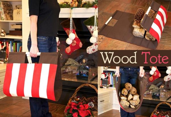 Tutorial: Sturdy firewood carrier