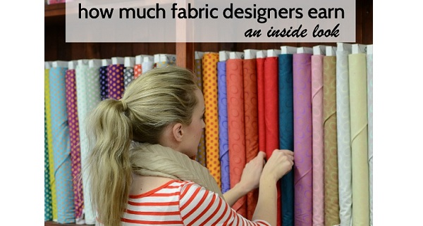 How much do fabric designers earn?