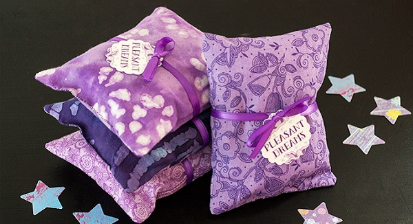 Tutorial: Scented dream pillows