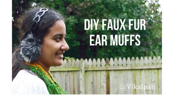 fauxfurearmuffs