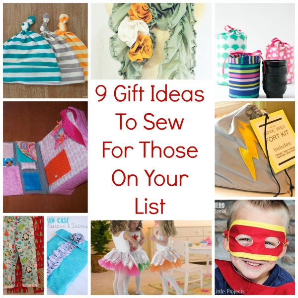 sewing craft ideas for gifts 9 gift ideas to sew for those on your list sewing 7125