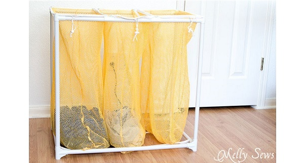 Tutorial: Drawstring laundry bag