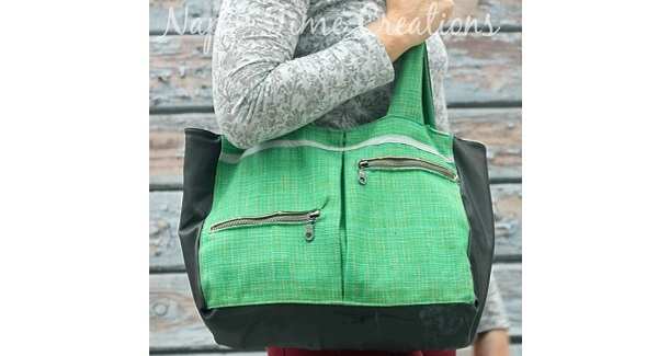Free pattern: Perfect for Winter tote