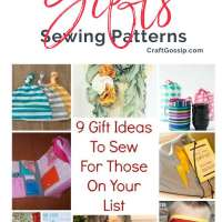 9 Gift Ideas To Sew For Those On Your List
