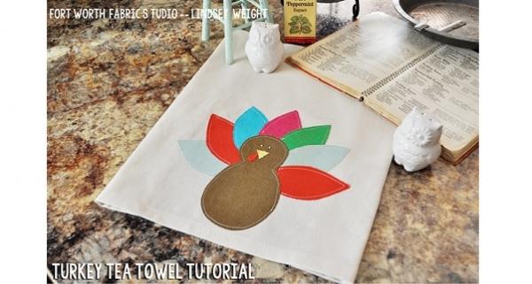 Tutorial: Turkey tea towel