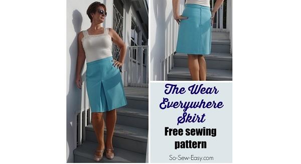 Free pattern: Wear Everywhere Skirt