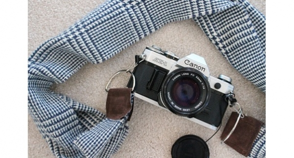 Tutorial: Winter scarf camera strap