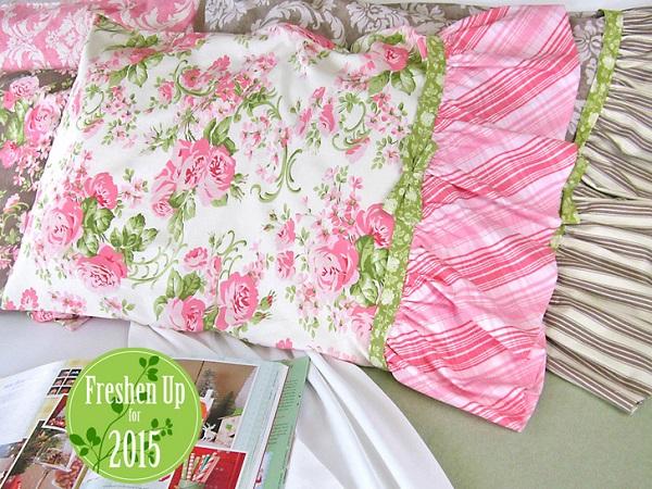 Tutorial: Romantic Ruffled Pillowcases