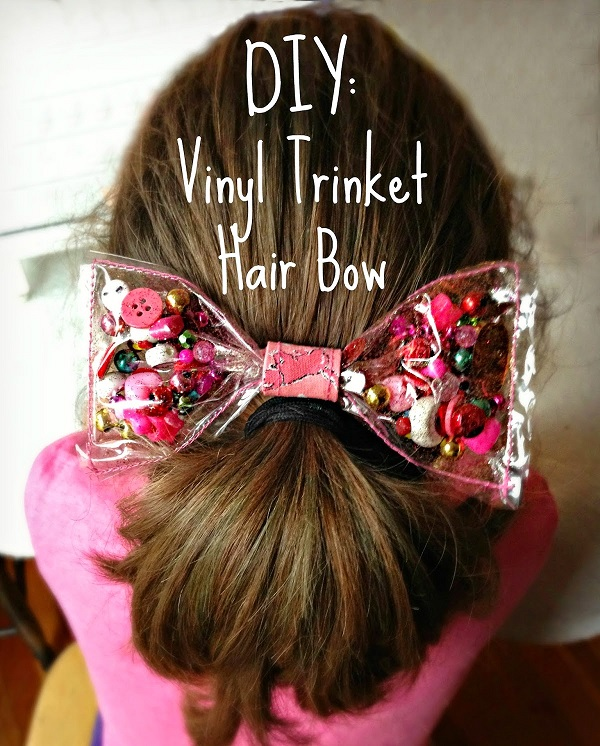 Tutorial Vinyl Trinket Hair Bow Sewing
