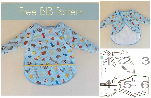 Tutorial: Full coverage vinyl bib for older babies and toddlers