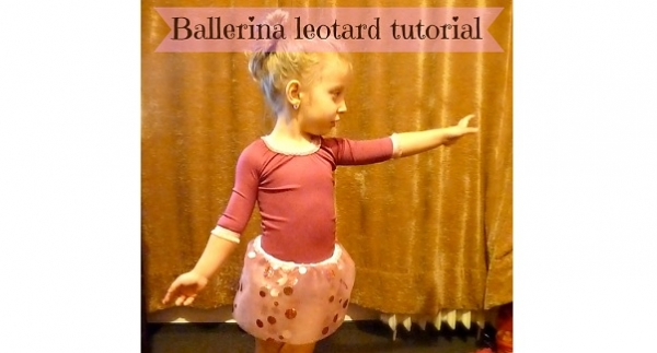Tutorial: Little girls ballerina leotard