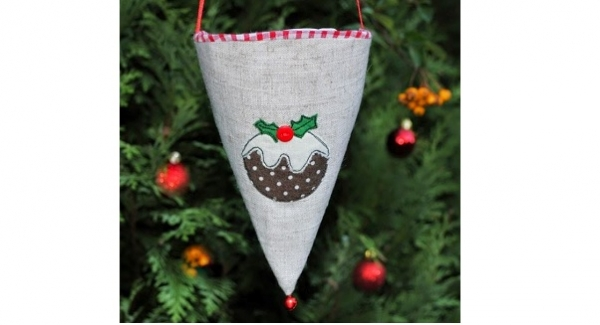 Tutorial: Christmas gift cone