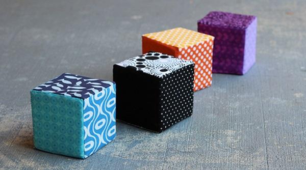 Tutorial: Soft fabric blocks for baby or toddler