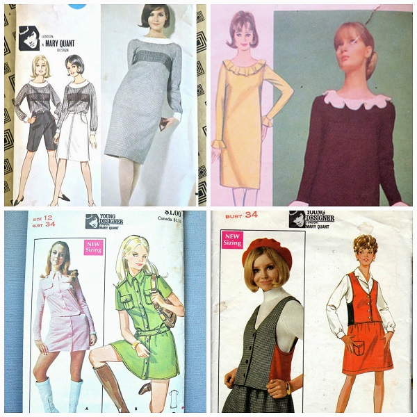 Mary Quant, Butterick's first Young Designer