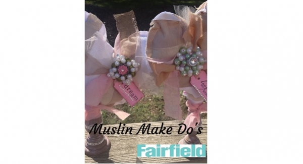 Tutorial: Muslin heart make-do decoration