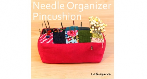 Tutorial: Pincushion that organizes your sewing machine needle