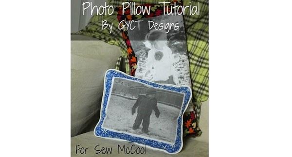 Tutorial: Keepsake photo pillow