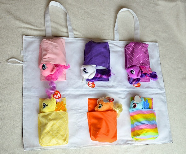 Inspiration My Little Pony Stable And Tote Bag Sewing