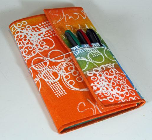 Diy Cloth Pads Tutorial: Tutorial: Fabric Note Pad Folio